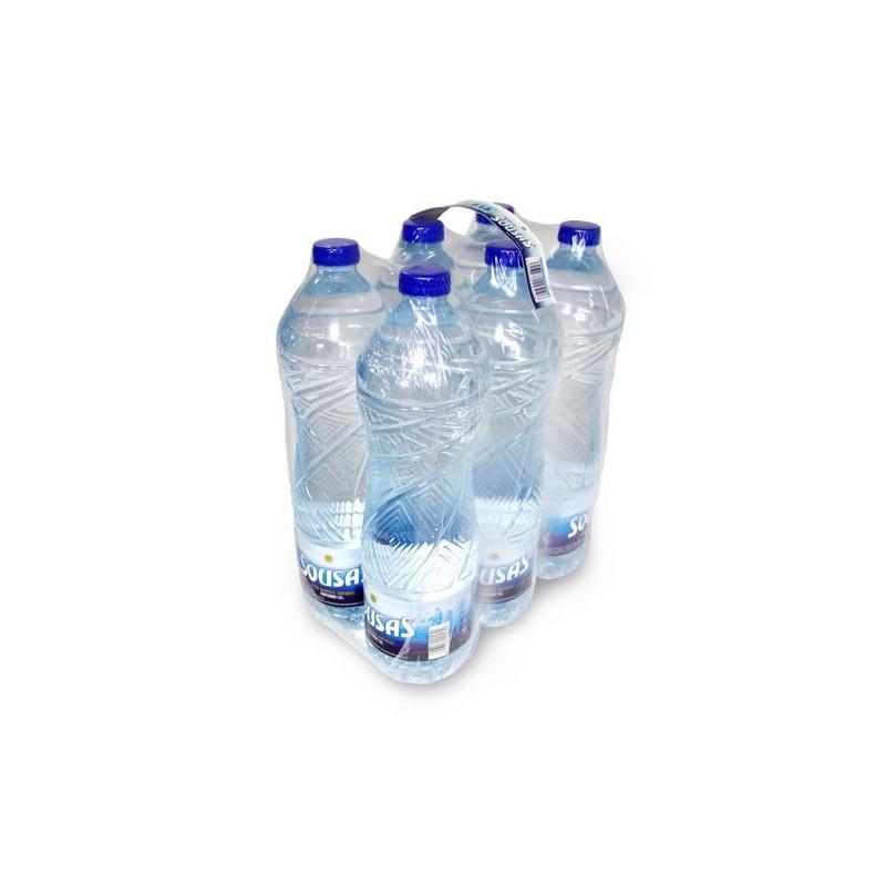 Agua mineral Sousas pack 6 botellas