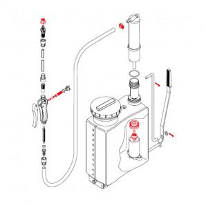 Recambio kit de pulverizadores