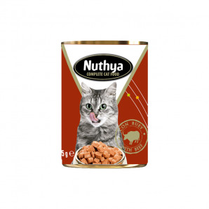 Lata gatos buey 415 gr