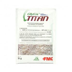 Herbicida Glyfos titan 50 gr