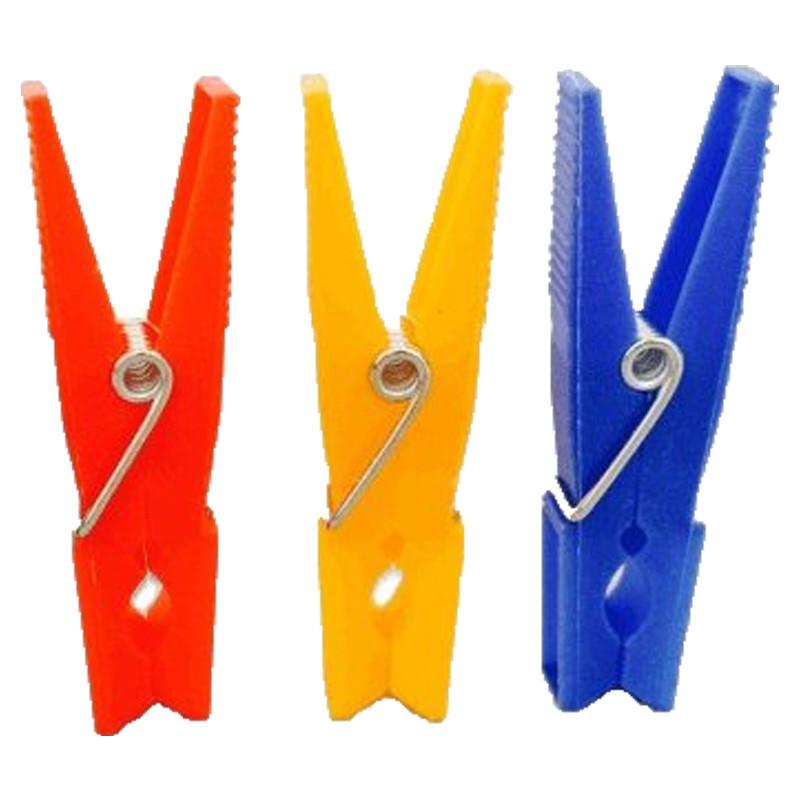Pinzas plástico 24 und