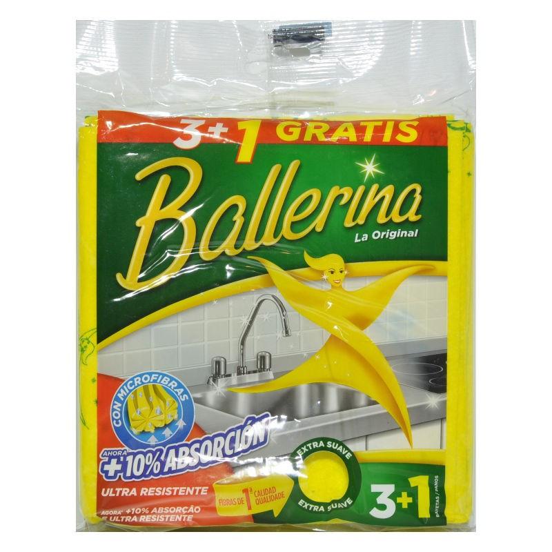 Ballerina bayeta 3 unidades