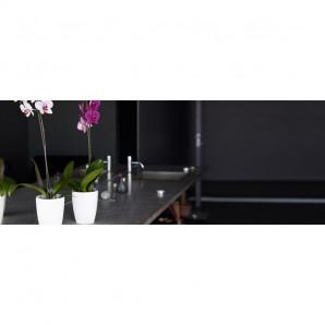 Maceta orquideas Fiji 15 cm verde safari