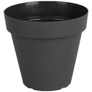 Vaso Capri 25 cm antracita
