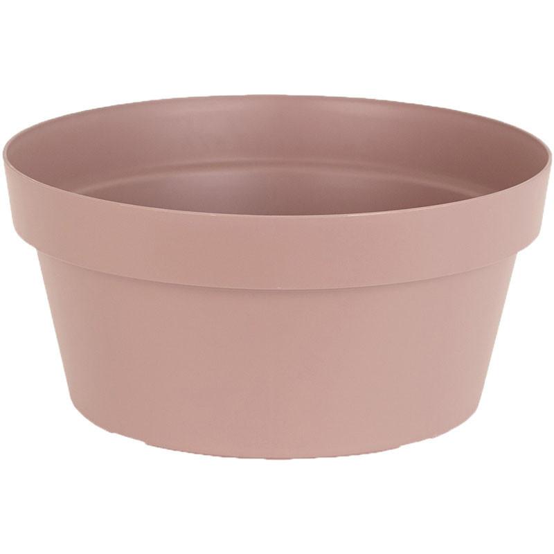 Maceta Capri bowl 25 cm taupe