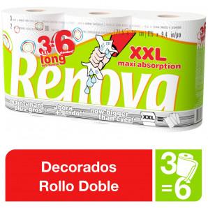 Rollo cocina maxi 3 und