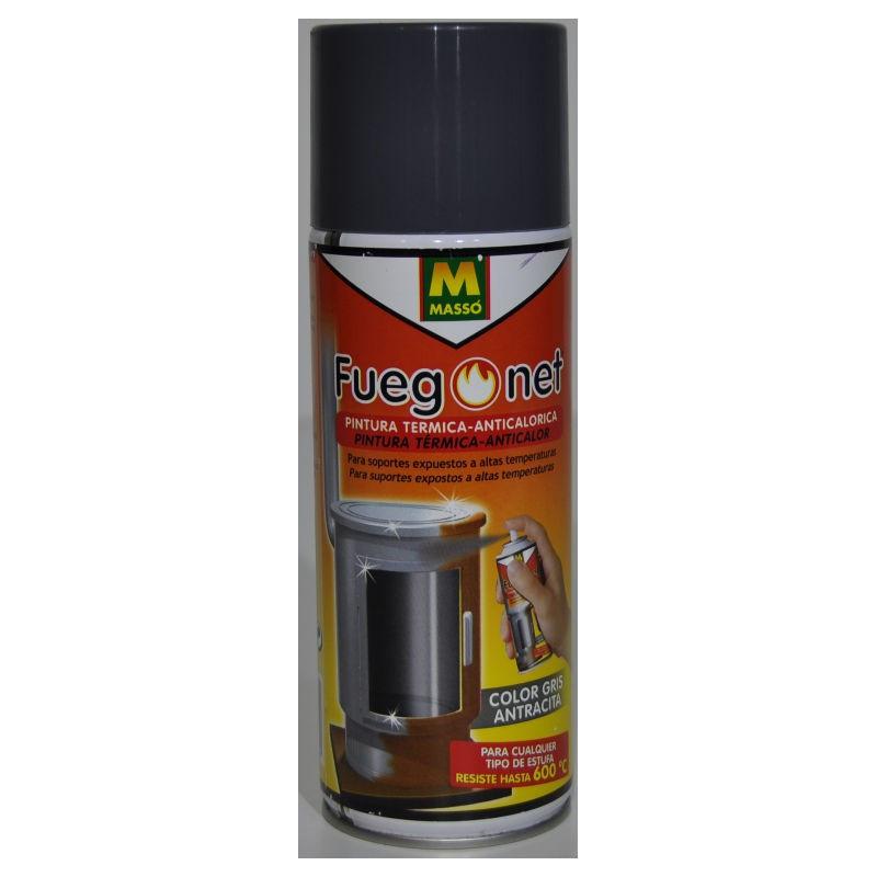 Pintura gris térmica anticalórica 400 ml