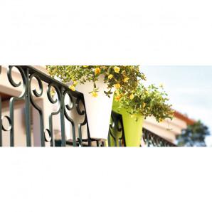 Jardinera Capri balcones negra