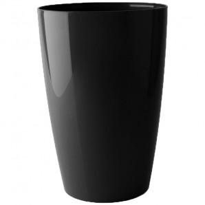 Maceta Santorini alto 78 cm negro