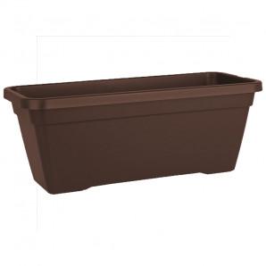 Jardinera Venezia 60 cm marron