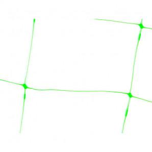 Malla judía 2 x 10 m verde