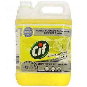 Cif limpiador general limón 5 lt