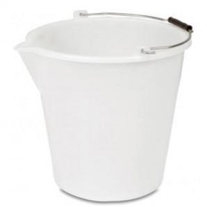 Cubo 17 lt blanco