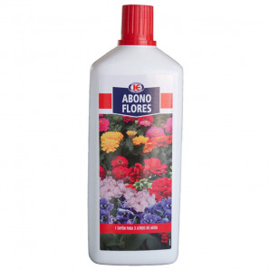 Abono líquido flores 1 lt