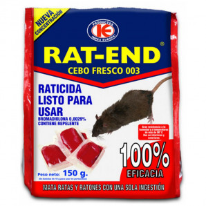 Rat-end cebo fresco 150 gr