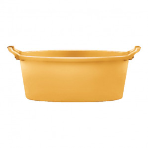 Palangana 80 cm amarillo ocre