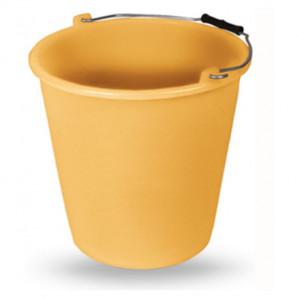 Cubo 13 lt amarillo ocre