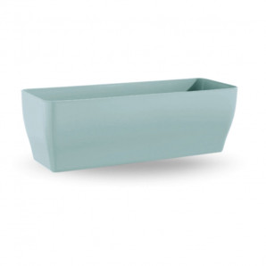 Jardinera Living 39 cm azul pastel