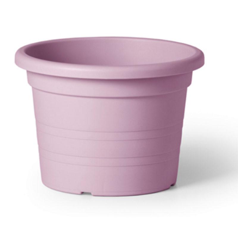Maceta cilindro 24 rosa pastel