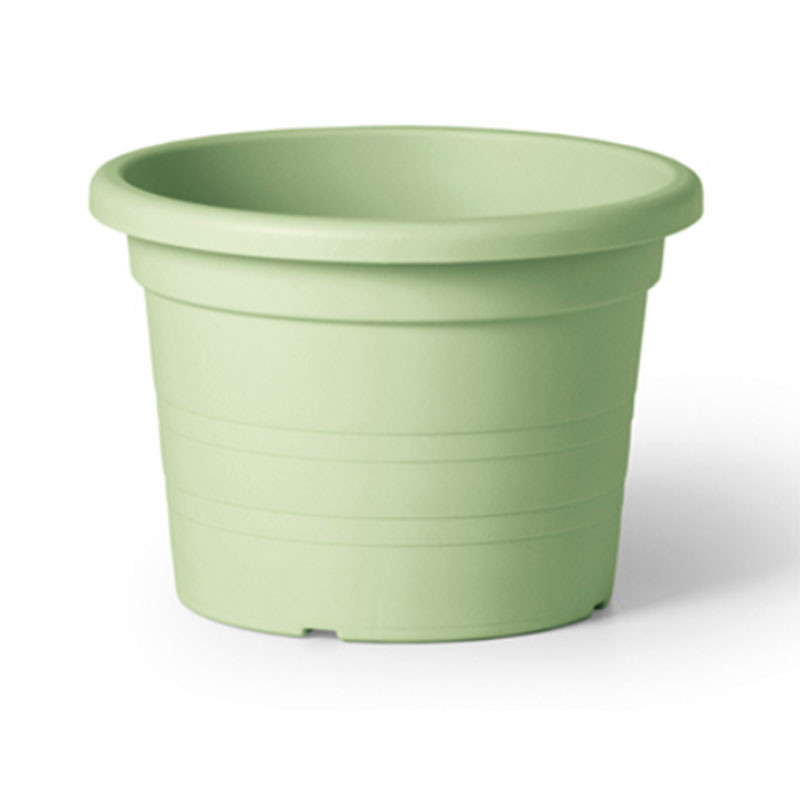 Maceta cilindro 24 cm verde lima