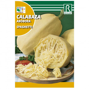 Semilla sobre calabaza Spaguetti