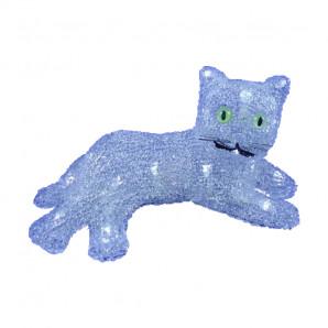 Gato acrílico con luces