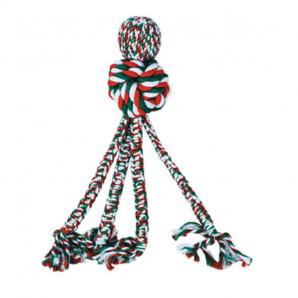 Juguete cuerda con pelota navideño