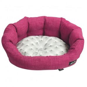 Cama perros Chester 75 cm rosa