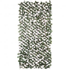 Celosia de madera extensible con hojas Wickgreen1 x 3 m