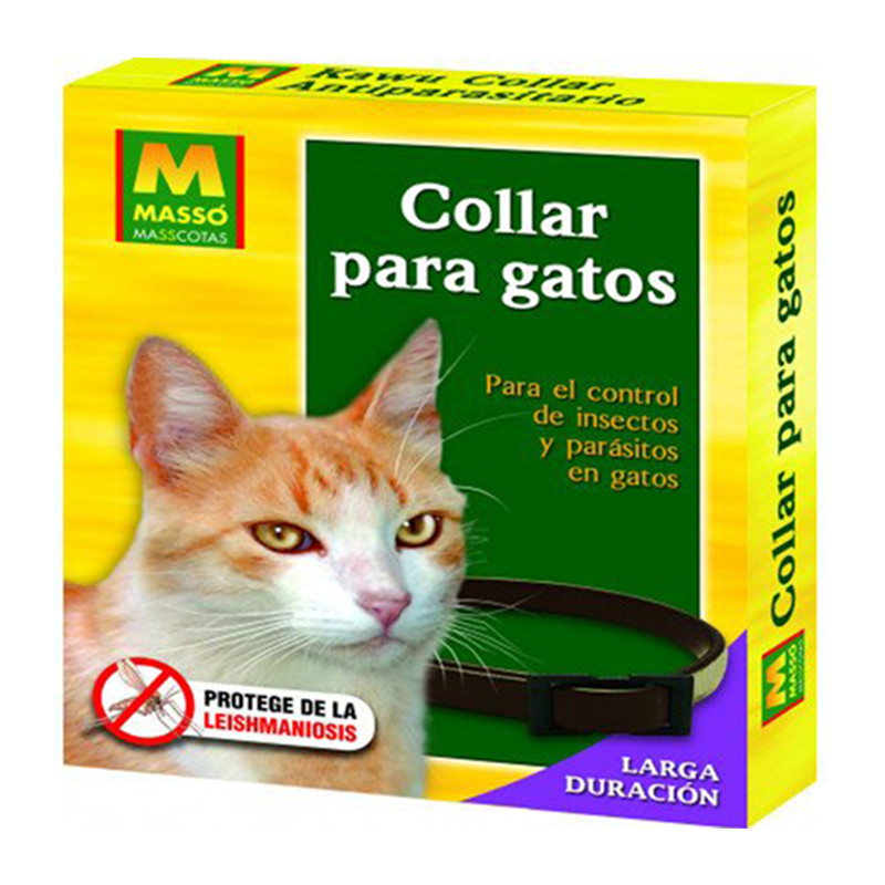 Collar repelente para gatos