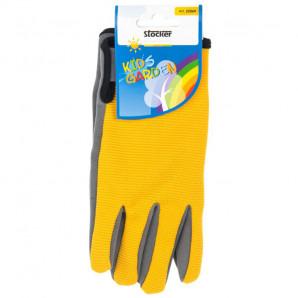 Guantes amarillo con velcro