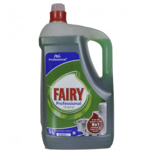 Fairy lavavajillas manual 5 lt