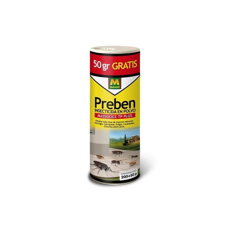 Insecticida en polvo 200 gr + 50 gr gratis