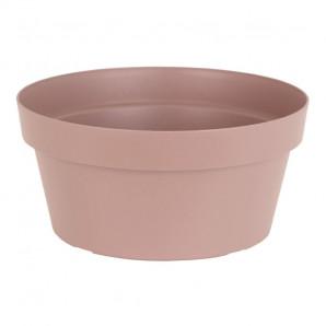 Maceta bowl Capri 25 cm gris pardo