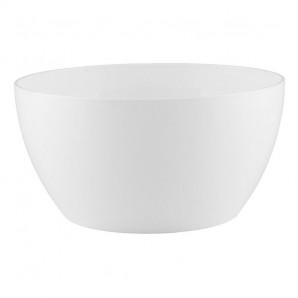 Maceta bowl San Remo 23 cm blanca