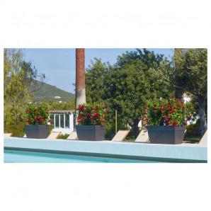 Jardinera Capri XL 60 cm antracita