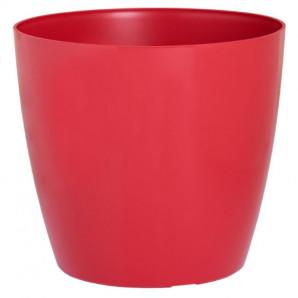Maceta San Remo 25 cm rojo