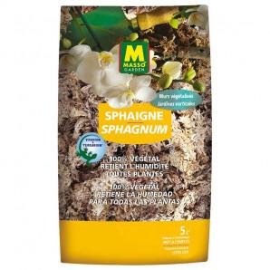 Turba de sphagnum 100% vegetal 5 lt