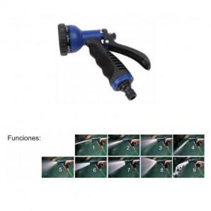 Pistola de riego 9 funciones 16 cm