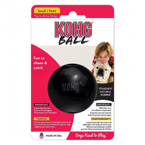 Kong pelota maciza Extreme T-S negra