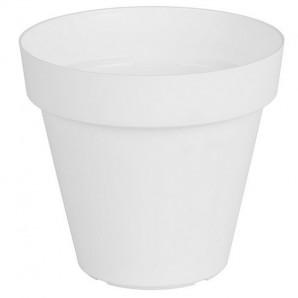 Vaso Capri 25 cm blanco