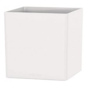 Maceta Oslo cuadrado 14 cm blanco