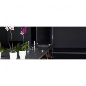 Maceta orquideas Fiji 15 cm transparente