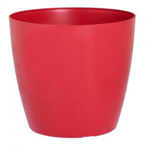 Maceta San Remo 16 cm rojo