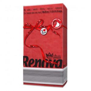 Servilletas rojas 2 capas
