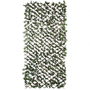 Celosia de madera extensible con hojas Wickgreen 1 x 2 m