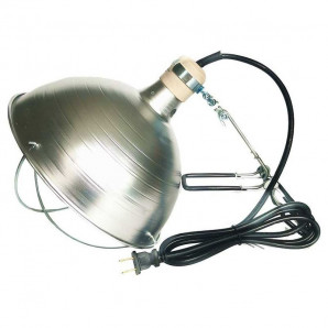 Porta-lamparas infrarrojo con protector