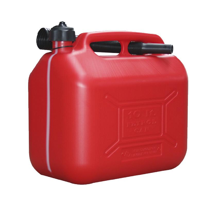 Bidón gasolina 5 lt con visor
