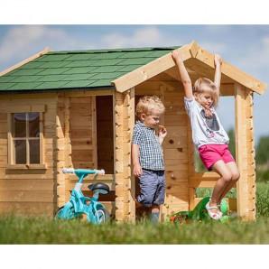 Casita infantil de madera Outdoor Toys Peter