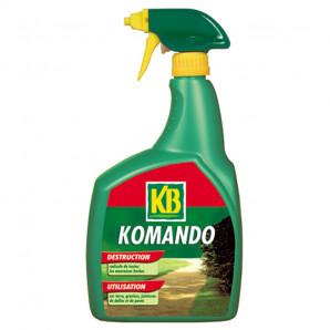 KB Komando pulverizador herbicida paseos 1 lt